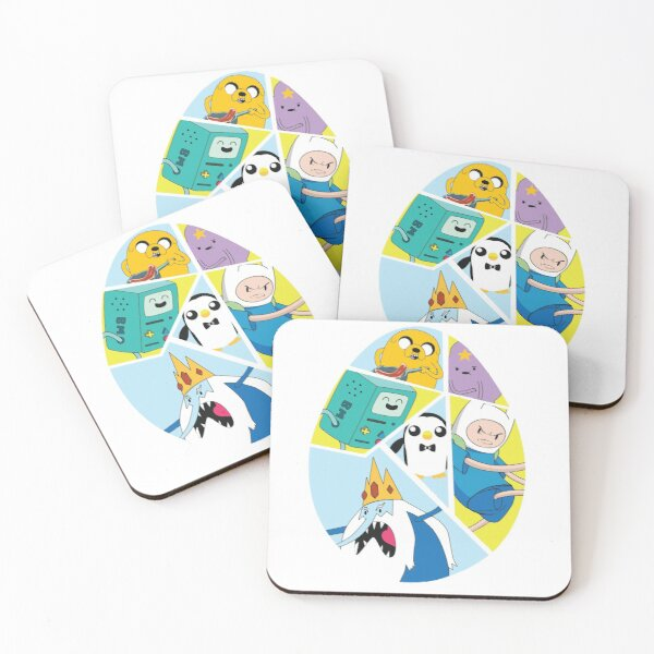 Adventure Time Easter Egg Coasters (Set of 4)