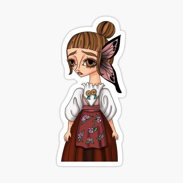 Janas butterfly fairy Sticker