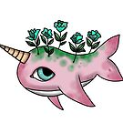 Pink Narwhal by Lu1nil