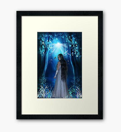 Elfin Dreams Framed Print