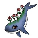 Whale and flowers by Lu1nil