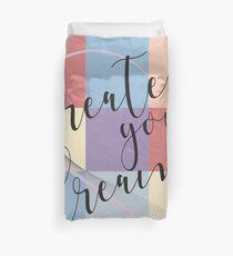 Kreieren Sie Ihren Traum - Retro Style Bettbezug