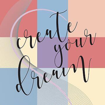 Kreieren Sie Ihren Traum - Retro Style von M-ohlala