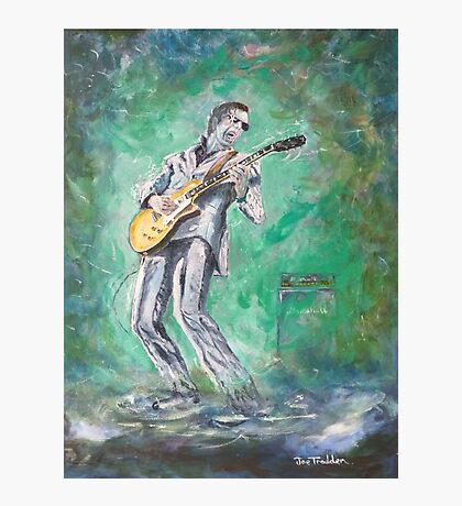 Joe Bonamassa singin' the blues Photographic Print
