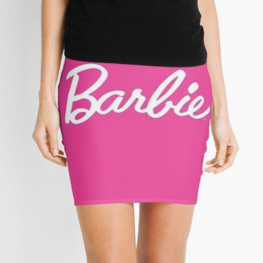 Crownd Barbie Mini Skirt