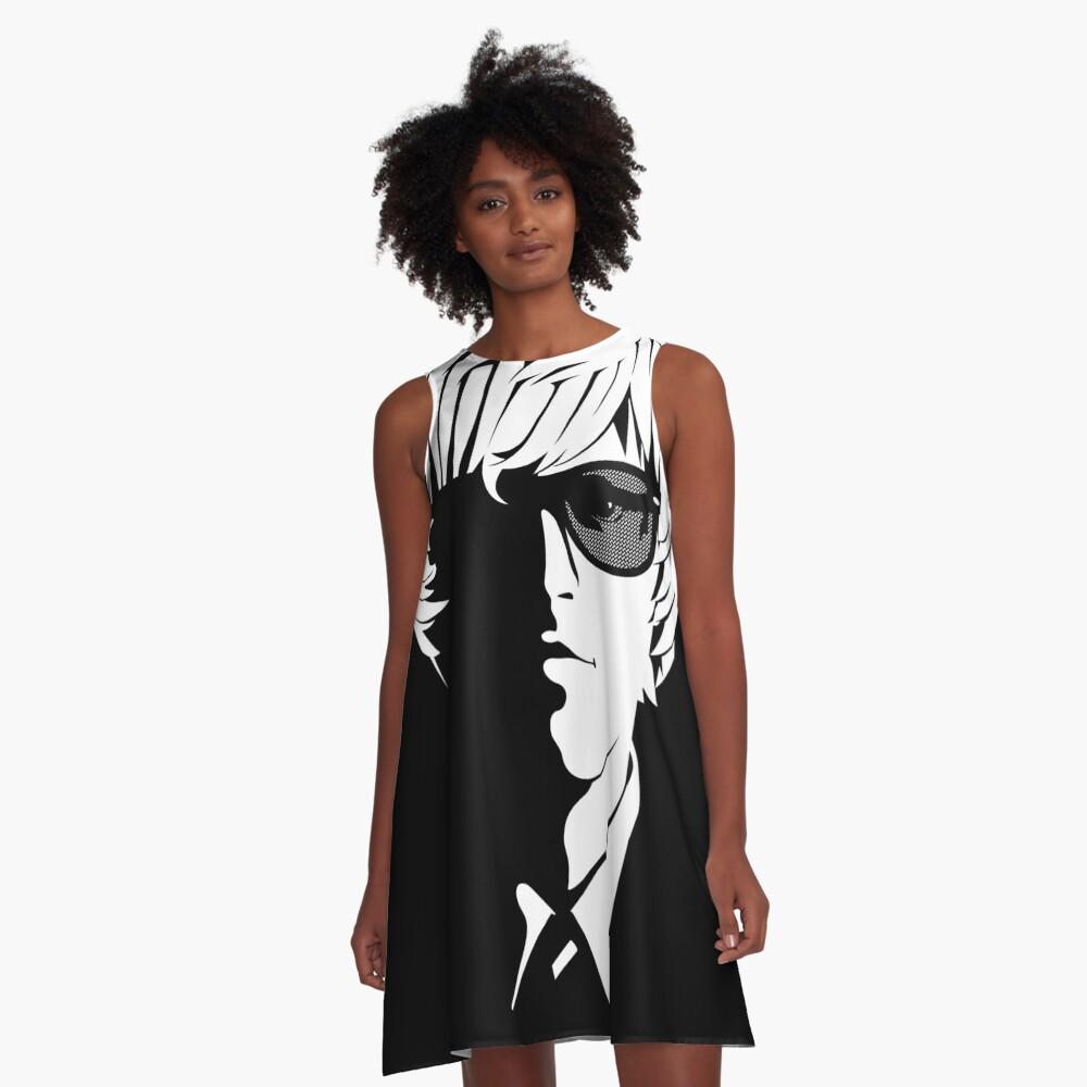 Sounds From The Bridge Emblem design A-Line Dress
