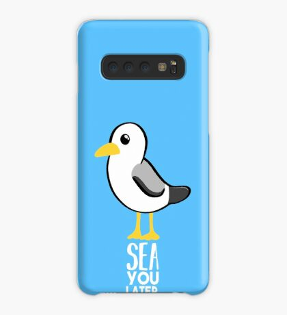 Seagull - Sea You Later - Funny Pun T Shirt Case/Skin for Samsung Galaxy