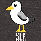 Seagull - Sea You Later - Funny Pun T Shirt by JustTheBeginning-x (Tori)