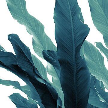 Banana Leaves Jungle #6 #tropical #decor #art  by anitabellajantz