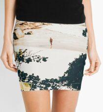 Solo Traveler II #illustration #travel  Mini Skirt