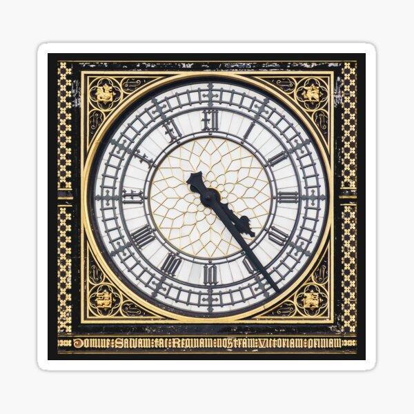 BIG BEN. CLOCK FACE. British, London. England. UK. Sticker