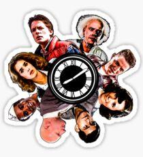 BTTF: Clock Tower MIX Sticker