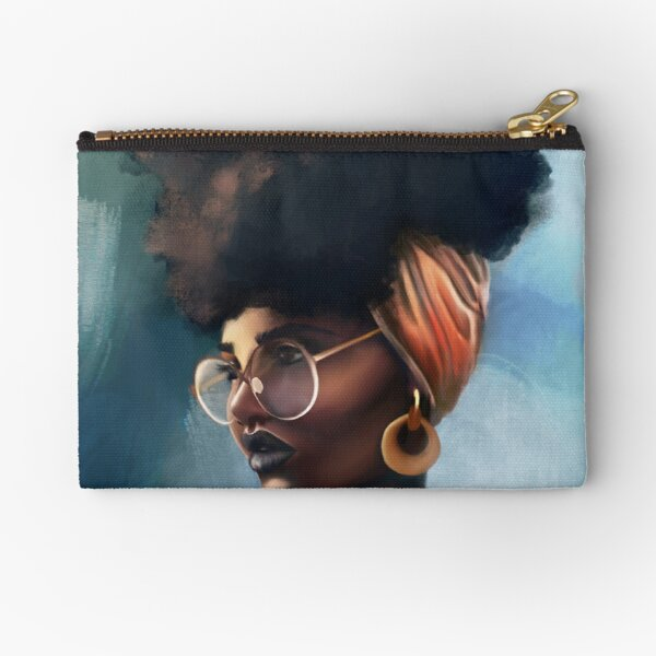 Natural Hair pride Zipper Pouch