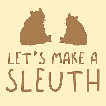 Let's make a SLEUTH bear (Collective Noun Group of bears) by jazzydevil