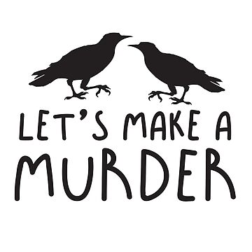 Let's make a MURDER crow (Collective Noun Group of crows) by jazzydevil