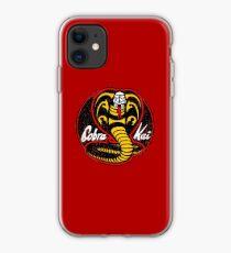 Cobra Kai logo - vintage iPhone Case