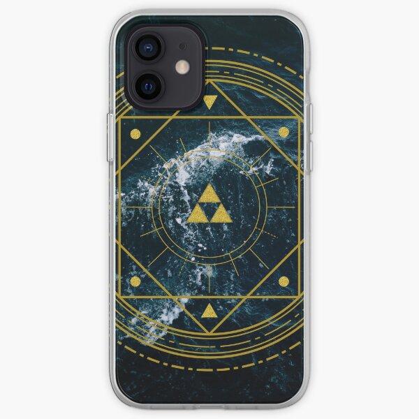 Triforce géométrique Coque souple iPhone