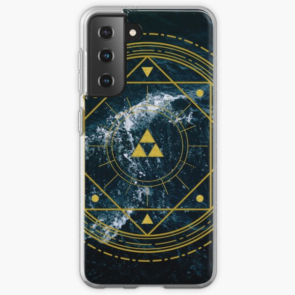Triforce Geometric Samsung Galaxy Soft Case