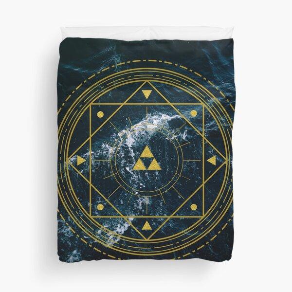Triforce Geometric Duvet Cover