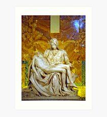 La Pieta, St. Peter's Basilica, The Vatican  Art Print