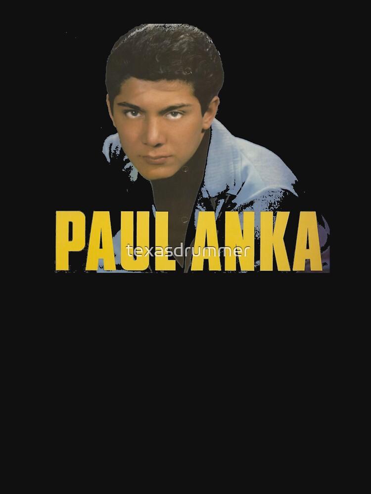 Paul Anka by texasdrummer