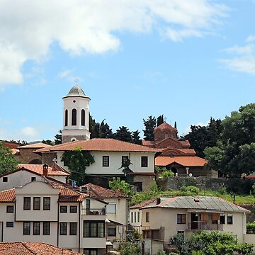 The Church of Holy Mary Perivleptos Ohrid town Macedonia by goceris
