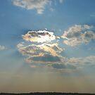 Beautiful Rays  Over Smoke by MaeBelle