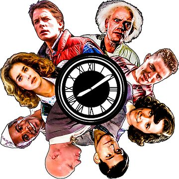 BTTF: Clock Tower MIX (saturated version) by javics
