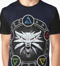 Das Hexersymbol Grafik T-Shirt