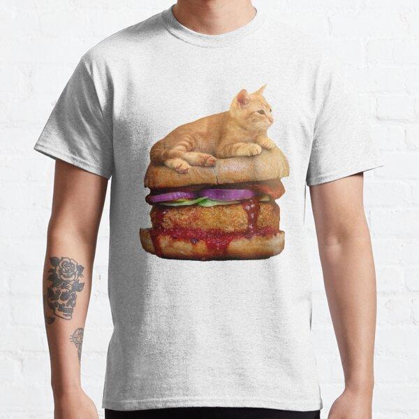 Burger Cat Classic T-Shirt