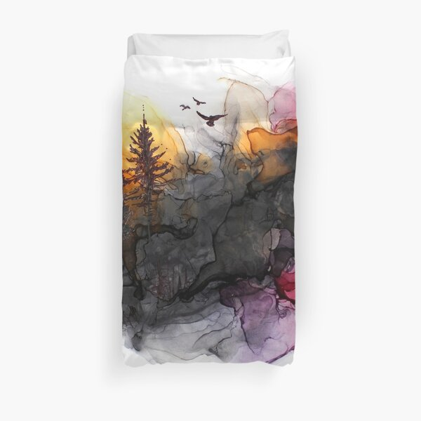 At the end of the day Duvet Cover