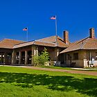 Union Pacific Station, West Yellowstone, Montana by Bryan D. Spellman