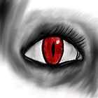 Red Demon Eye by InsaneWraith