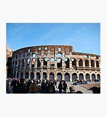 Roman Colosseum, Italy Photographic Print