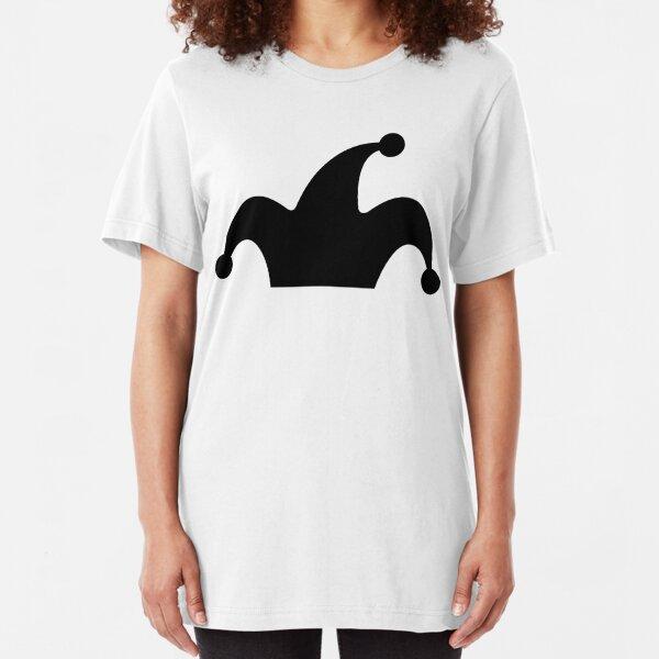 Phoole Jester Hat Logo by Tiffany Slim Fit T-Shirt