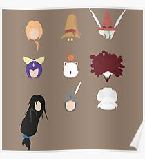 FFIX Party Faces Poster