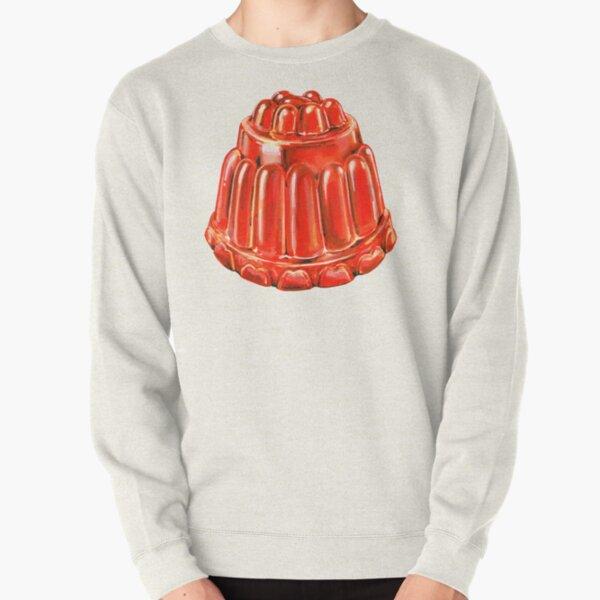 Jello Mold Pattern Pullover Sweatshirt