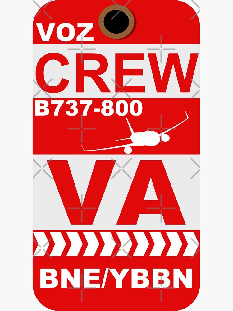 VA B737-800 Crew BNE by AvGeekCentral