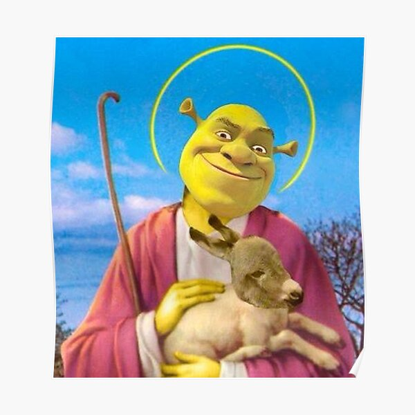 Shrek Saviour Poster