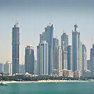 Dubai Day Scape by Jakov Cordina