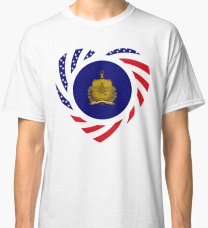 Vermont Murican Patriot Flag Series Classic T-Shirt