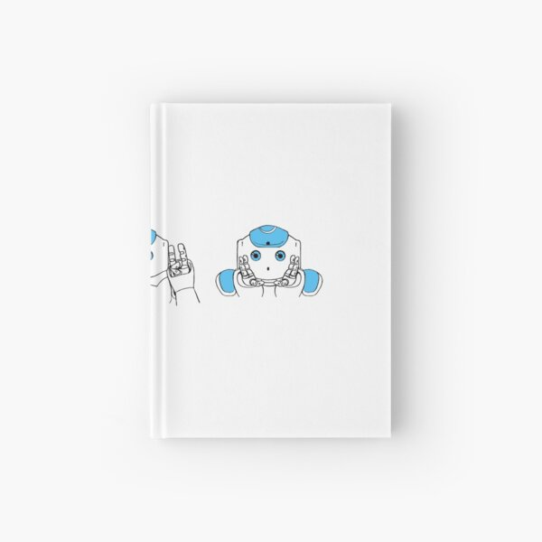 Robots See Hear Speak no Evil Hardcover Journal