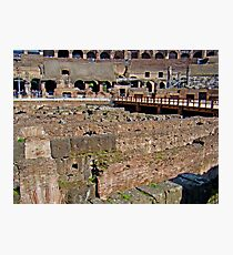 Where Lions Rome Photographic Print