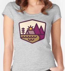 Amoureux de la nature T-shirt échancré