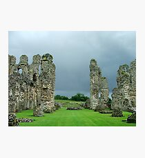 Castle Acre Priory Ruins Photographic Print