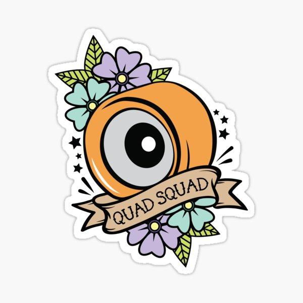 Quad Squad Sticker
