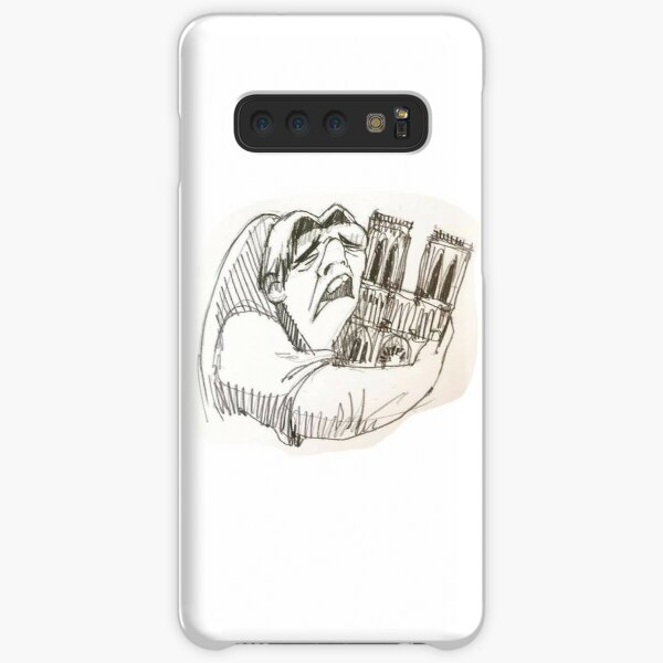 Notre Dame de Paris cathedral on fire 15 april 2019 The Hunchback Samsung Galaxy Snap Case