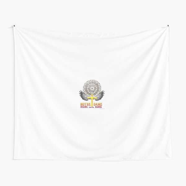 Notre Dame Rose Window Tapestry