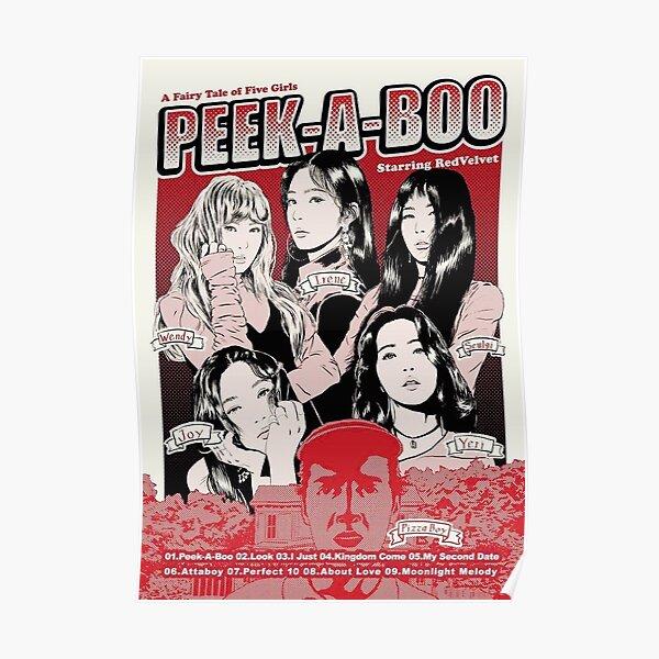 Red velvet peek a boo poster-anime  Poster