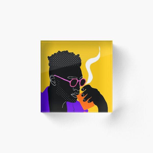 Hauts en couleurs 03 Acrylic Block